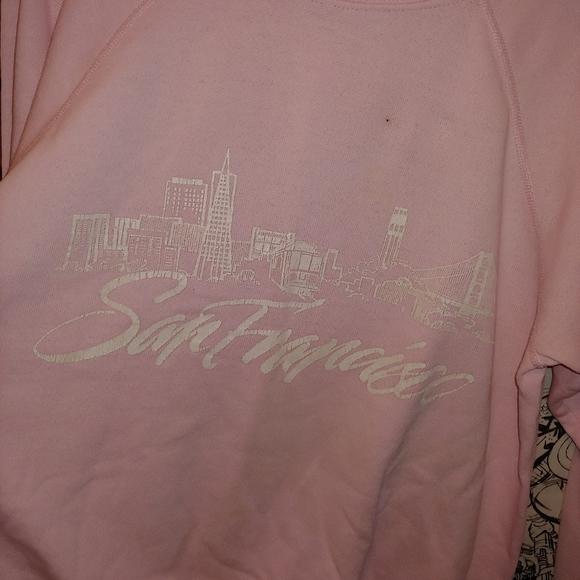 Vintage Tops - Vintage San Francisco Tourist Sweatshirt